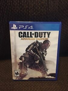 Ps4 Call of Duty Advanced Warfare (mint)