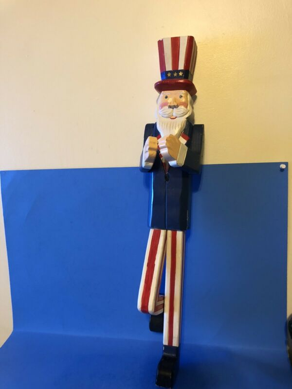 Uncle Sam Wall Hanging Wooden