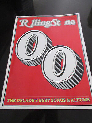 ROLLING STONE MAGAZINE~DECEMBER 2009~BEST of the 2000's~SONGS &