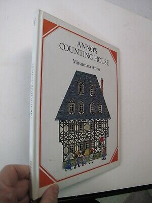Children's Juvenile Toy Books Anno's Counting House Mitsumasa Anno Color 1983](Children's Counting Books)
