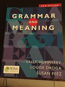Grammar and meaning text book Stafford Brisbane North West Preview
