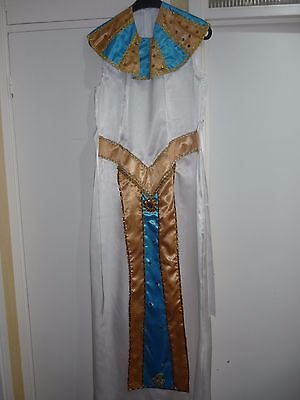 Egyptian Queen Cleopatra LADIES DRESS Ancient Egypt Costume  Fancy Dress