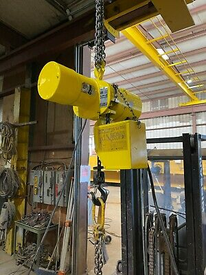 Budgit 1 Ton Electric Chain Hoist 230460-3-60 Model 115845-7
