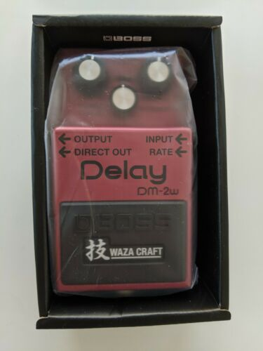 Boss DM-2W Waza Craft Delay Pedal - New in Box