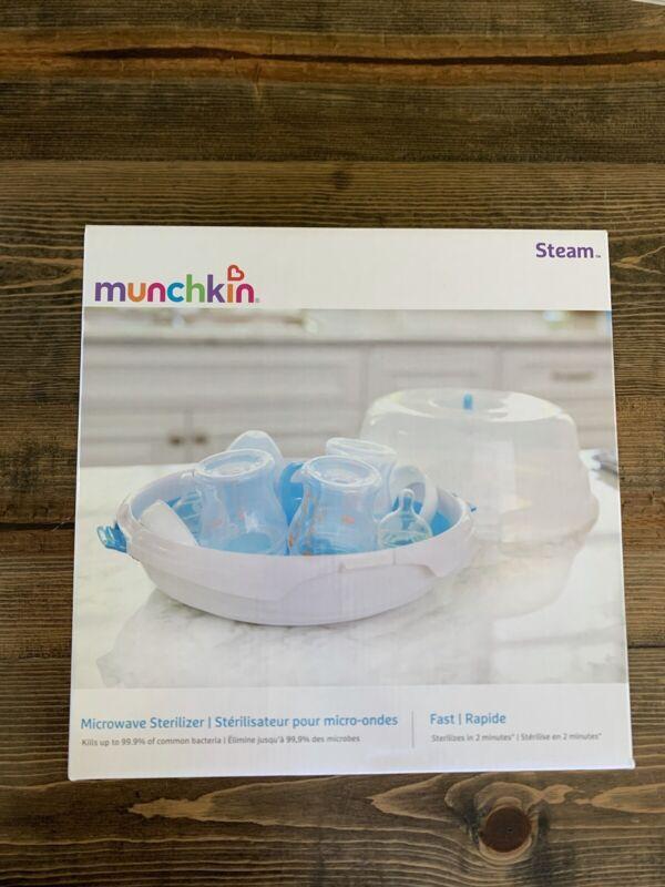 Munchkin Steam Guard Microwave Baby Bottle Sterilizer New in Box Newborn