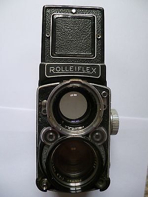 ROLLEIFLEX TLR WITH 2.8 planar LENS +CASE +FILTERS