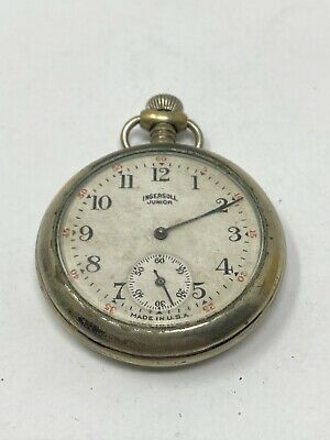 ingersoll junior made in the usa pocket watch Spares Repairs