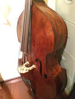 German Double Bass circa 1870