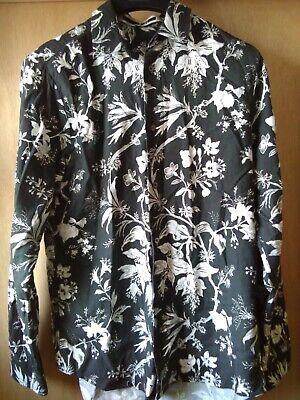 Alexander McQueen floral shirt M/L ,IT 52