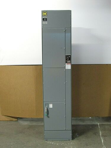 NEW SQUARE D 6 MCC 6MCC MOTOR CONTROL CENTER 3PH 3W 1 SECTION REV 05