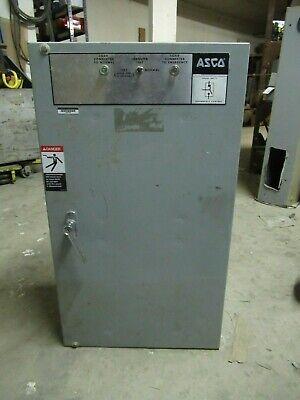 Asco Automatic Transfer Switch 30035091c 150 Amp 480 Vac 3 Ph Nema 1 Enclosure
