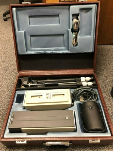 Vintage sony AVC-3200 B&W Camera system with Case