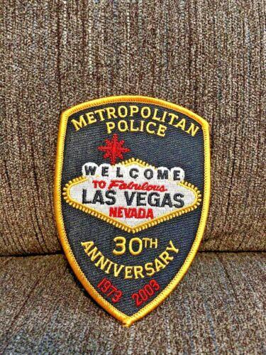 LAS VEGAS METROPOLITAN METRO POLICE VEGAS STRONG 30TH ANNIVERSARY PATCH NEVADA