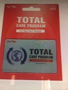 AUTEL MS908 MAXISYS ONE YEAR TOTAL CARE UPDATE CARD
