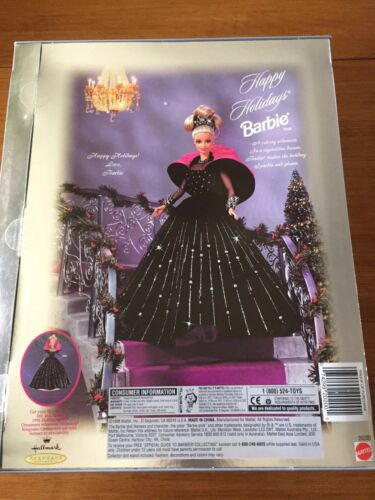 Happy Holidays 1998 Barbie Doll - $16.99