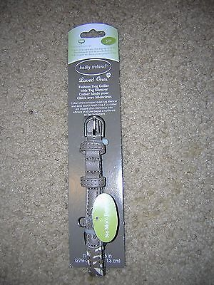 NEW! Kathy Ireland Loved Ones Fashion Dog Collar with Tag Silencer Size S/P