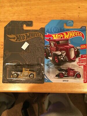 New 2019/2020 Hot Wheels Target Red & Satin Chrome GOTTA GO SERIES Lots 2