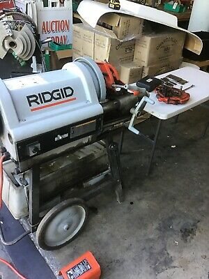 Ridgid 1224 Pipe Threader 12-4 Rigid 300 535 Free Freight Shipping