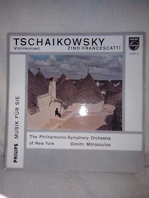 LP - TSCHAIKOWSKY - Violinkonzert mit Zino Francescatti