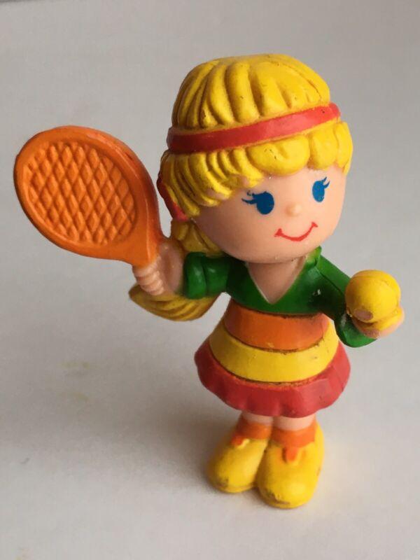 Vintage Remco Life Savers Candy Lotta Flavors Figure PVC 1982 Rainbow Tennis