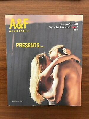 ABERCROMBIE & FITCH Summer Issue 2003 Catalog A&F Quarterly BRUCE WEBER