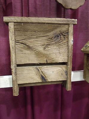 Hanging Rustic BAT House Amish Handcrafted Made in USA - Barn wood