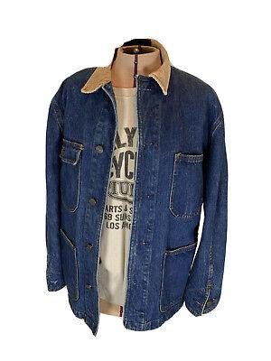 Vtg late 70's Ralph Lauren Authentic Dungarees Denim Chore Barn Jacket USA RRL