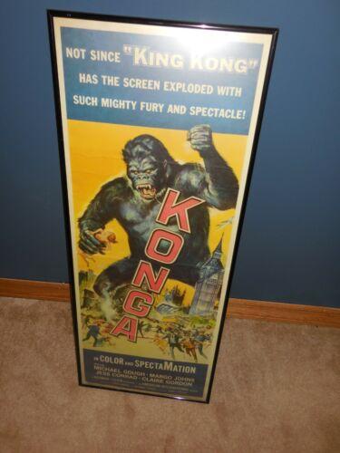 1961 Konga Original Insert Poster Framed