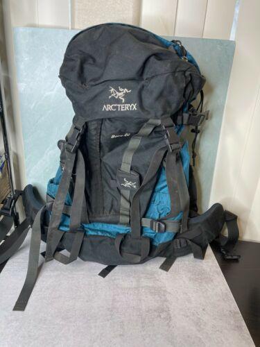 Vintage Arc'Teryx Bora 40 Blue Internal Frame Backpack Backpacking hiking