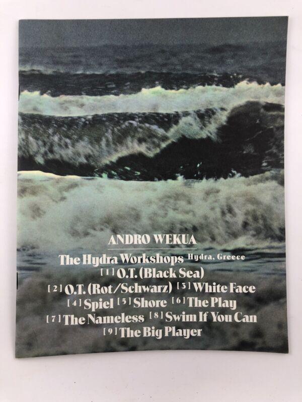 Catalog - Andro Wekua: The Hydra Workshops 2007 / Sadie Coles HQ / Fine