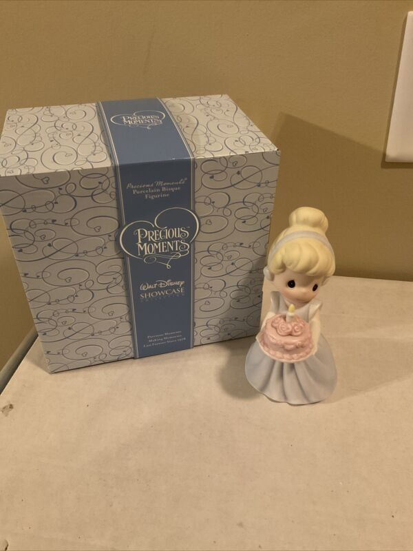 Precious Moments WISHING ALL OF YOUR DREAMS COME TRUE 820002 Disney Cinderella