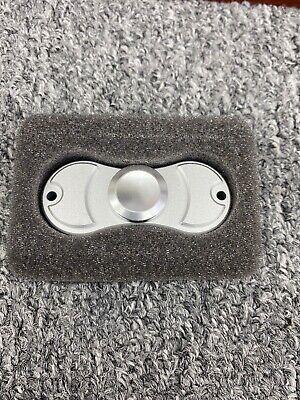 Torqbar steel fidget spinner - torqbar ADHD Silver