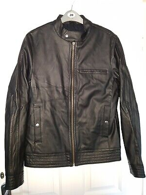 Asos Artificial Leather Jacket - Mens Small