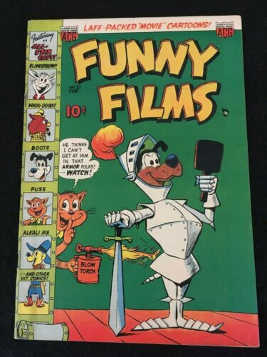 FUNNY FILMS #21 F+/VF- Condition