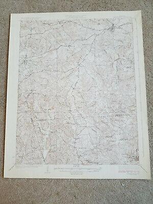 22x29 Vintage 1925 USGS Topo Map Leitchfield, Kentucky Ridgedale Woodside (Ridgedale Map)