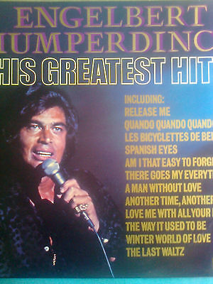 ENGELBEAT HUMPERDINCK LP HIS FREATEST HITS