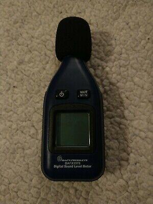Bafx Products Decibel Meter Sound Level Reader