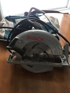 Bosch skill saw with carry bag