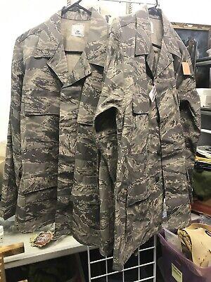 LOT OF 2 Coat Men's Utility U.S. Air Force Digital Camouflage Jacket  SZ 40R