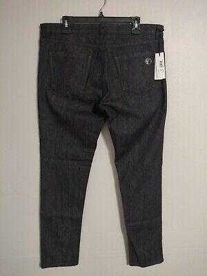 Versace Collection Pantalone Casual Slim Nero Dark Denim Jeans - Men's 36 - New!