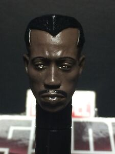 MARVEL LEGENDS KNIGHTS PAINTED/FITTED MCU WESTLY S. BLADE 1:12 HEAD CAST