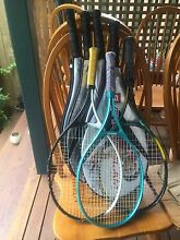 Tennis Racquets 20 each ! Red Hill Brisbane North West Preview