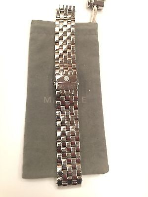 MICHELE URBAN + DECO XL 20mm Stainless Steel watch bracelet   ms20av235009