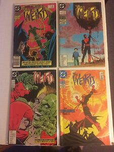 The weird comics ( 1-4 mini series set)