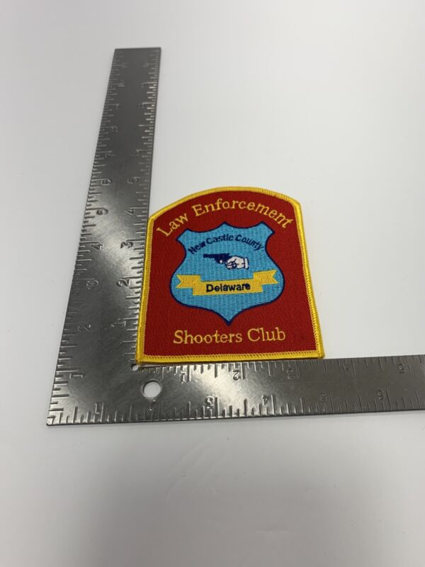 NEW CASTLE COUNTY, DELAWARE LAW ENFORCEMENT SHOOTERS CLUB POLICE SHOULDER PATCH