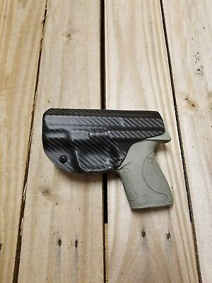Concealment Smith & Wesson M&P SHIELD 45 IWB Carbon Fiber Black KYDEX (Smith And Wesson M And P 45 Holster)