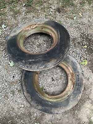Farmall H Front Rim And Tire 5.00-16