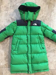 North Face Down Parka knee long 4-6 yrs