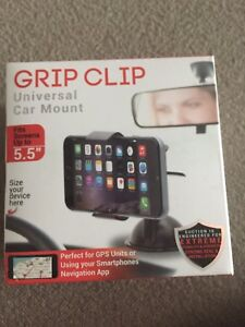 GPS SMARTPHONES GRIP CLIP CAR MOUNT