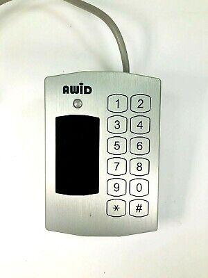 Awid Proximity Reader With Non-destructible Keypad Kp-6840
